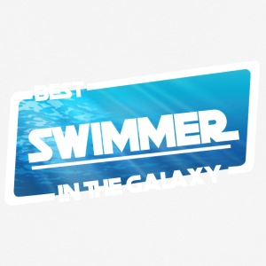 Swim / Float: Best Simmare i Galaxy - Andningsaktiv T-shirt herr