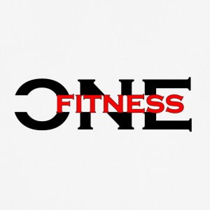 ONE FITNESS Logo (Without Globe) - Men's Breathable T-Shirt