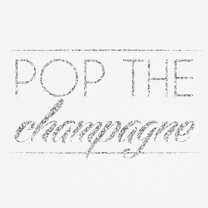 New Years Eve: Pop The Champagne - Men's Breathable T-Shirt