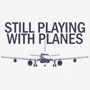 Pilot: Stadig Playing With planen. - Herre T-shirt svedtransporterende