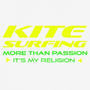 Kitesurfing - MERE END PASSION - ITS min religion - Herre T-shirt svedtransporterende