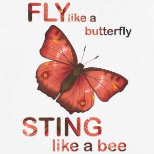fly like butterfly sting like a bee - Men's Breathable T-Shirt