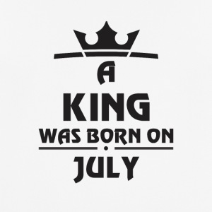 A KING WAS BORN ON JULY - Men's Breathable T-Shirt