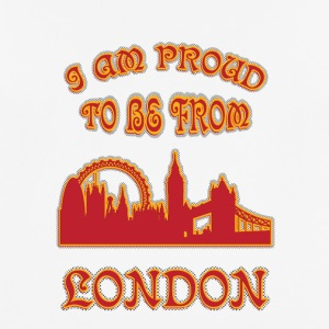 London I am proud to be from - Men's Breathable T-Shirt