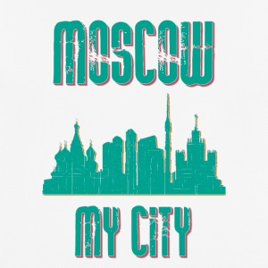 Moskva MY CITY - Herre T-shirt svedtransporterende