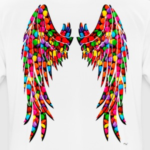 Candy Wings - Camiseta hombre transpirable
