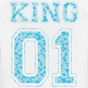 KING 01 - Blue Edition - Men's Breathable T-Shirt