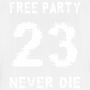 Free party never the 23 - Men's Breathable T-Shirt