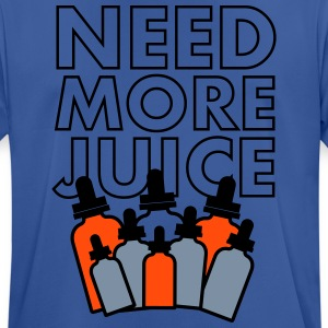 Need More Juice - Dempfer Shirt - Men's Breathable T-Shirt