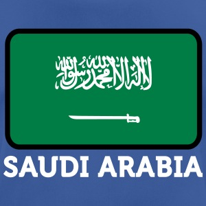 National Flag Of Saudi Arabia - Andningsaktiv T-shirt herr