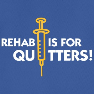 Rehab er for quitters - Herre T-shirt svedtransporterende