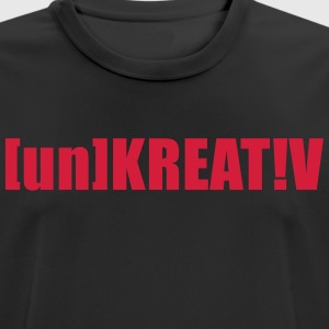 Uncreative - Men's Breathable T-Shirt