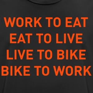 Bike to work - Men's Breathable T-Shirt
