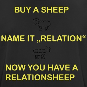 relation Sheep - Men's Breathable T-Shirt