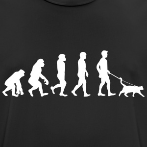 Cats - Evolution - mannen T-shirt ademend