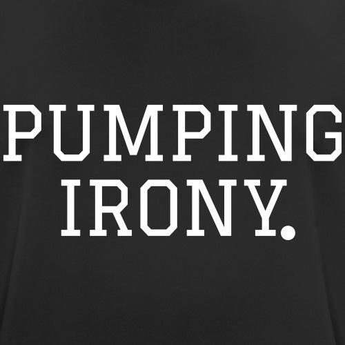 Pumping Iron(y) - Männer T-Shirt atmungsaktiv