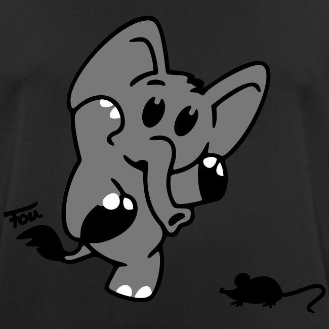 Elefant + Maus - colored