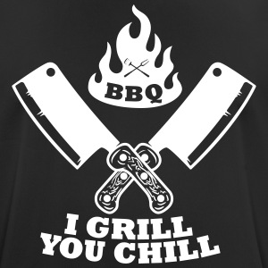 BBQ grill chill - Men's Breathable T-Shirt