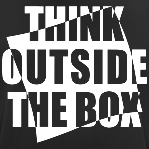 Think outside the BOX - Männer T-Shirt atmungsaktiv