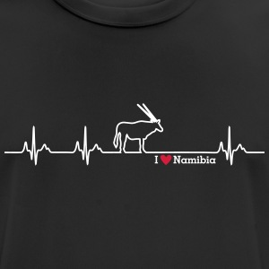 I love Namibia - Men's Breathable T-Shirt