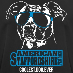 AMERICAN STAFFORDSHIRE coolest dog ever - Men's Breathable T-Shirt