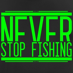 NeverStop Fishing 001 AllroundDesigns - Men's Breathable T-Shirt