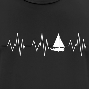 Heartbeat sailing - Men's Breathable T-Shirt