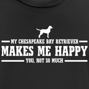 CHESAPEAKE BAY RETRIEVER me rend heureux - T-shirt respirant Homme