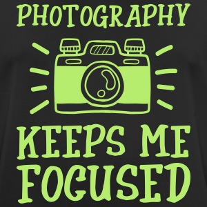 Photography keeps me focused - Men's Breathable T-Shirt