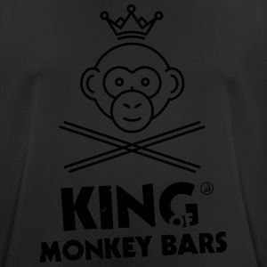 King of Monkey Bars - Pustende T-skjorte for menn