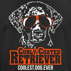 CURLY COATED RETRIEVER coolest dog - Men's Breathable T-Shirt