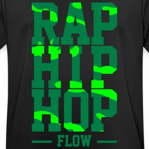Rap Hip Hop Flow - Camiseta hombre transpirable