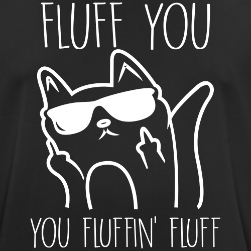 fluff you - Mannen T-shirt ademend