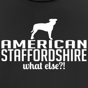 American Staffordshire whatelse - Pustende T-skjorte for menn
