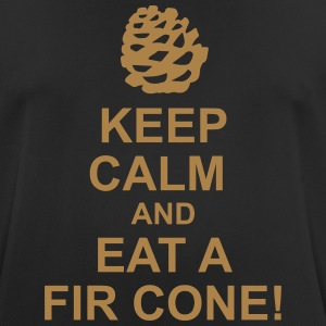 Keep Calm pine cones - Men's Breathable T-Shirt