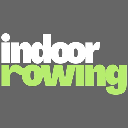 indoor rowing logo 2c - Men's Breathable T-Shirt