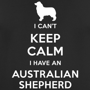 I can't keep calm I have an Australian Shepherd - Camiseta hombre transpirable