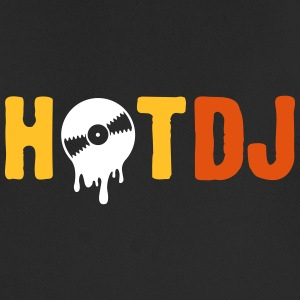 Hot DJ! - Pustende T-skjorte for menn