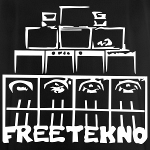 FREETEKNO SOUND SYSTEM - Men's Breathable T-Shirt