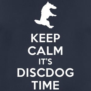 KEEP CALM IT'S DISCDOG TIME - Camiseta hombre transpirable