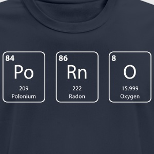 Porn periodic table element - Men's Breathable T-Shirt