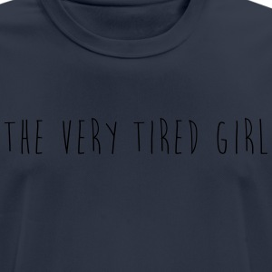 the very tired girl - Men's Breathable T-Shirt