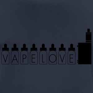 Vapelove motif - Men's Breathable T-Shirt