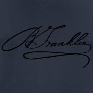 Autograph of Benjamin Franklin - Men's Breathable T-Shirt