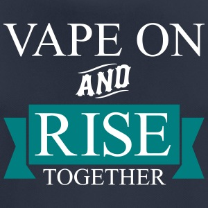 Vape On and RISE Together - Men's Breathable T-Shirt