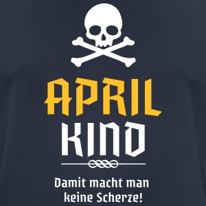 April Kind Geburtsmonat - Männer T-Shirt atmungsaktiv