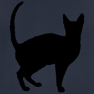 Vector Cat Silhouette - T-shirt respirant Homme