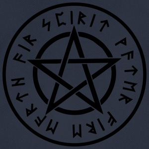 Pentagram, pentacle, rune, runes, symbols, signs - Men's Breathable T-Shirt