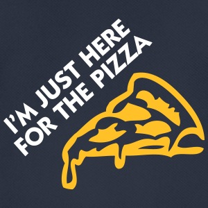 I'm Just Here For The Pizza! - Men's Breathable T-Shirt