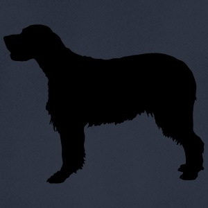 Vector dog Silhouette - Men's Breathable T-Shirt